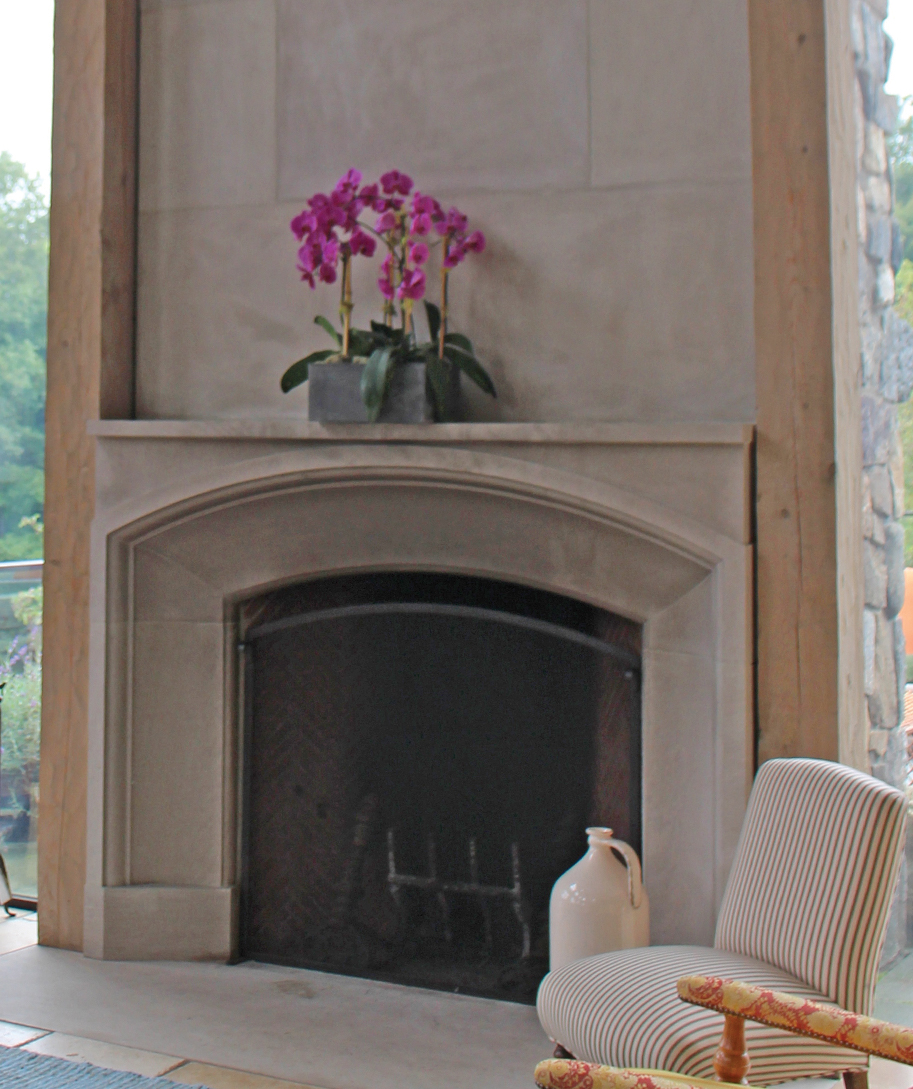 natural stone veneer types lister limestone fireplace with lights