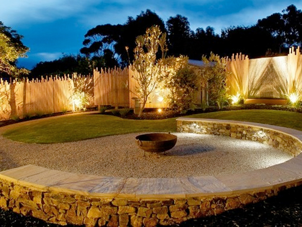 Outdoor lighting accent o g industries earth products for Landscape accent lighting