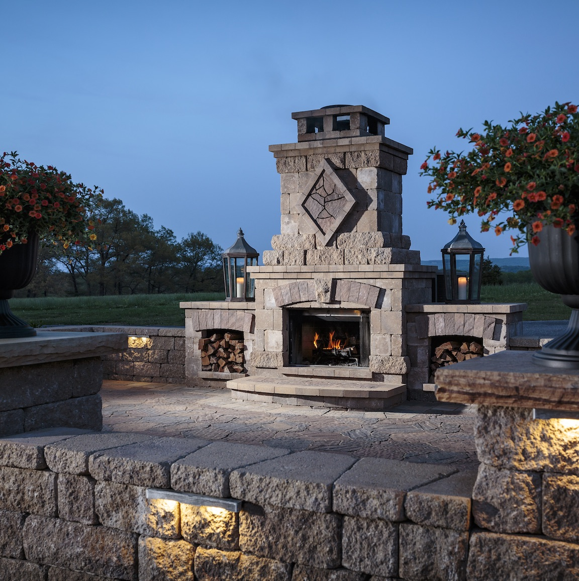 Extend the use of your outdoor living area and illuminate your space with  landscape lighting from Tru-Scapes Landscape Lighting products. Explore the  elegant outdoor lighting options, whether accent, hardscape, or pathway  lighting-the possibilities are endless with Tru-Scapes and O&G by your side.